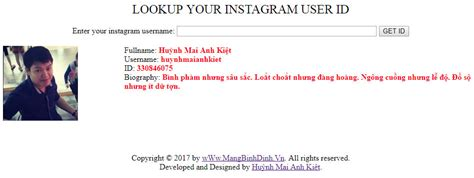 User Id Lookup How To Lookup Your Instagram User Id Shopify Tips