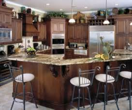 Kitchen Cabinet Island Design Ideas by Decorating Ideas For Above Kitchen Cabinets Room