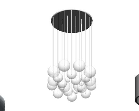 Revit Light Fixture Families Revitcity Object Chandelier Light Fixture