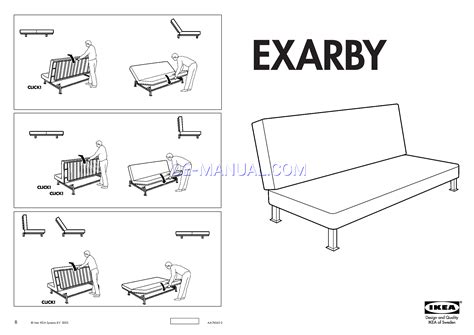 ikea beddinge futon assembly