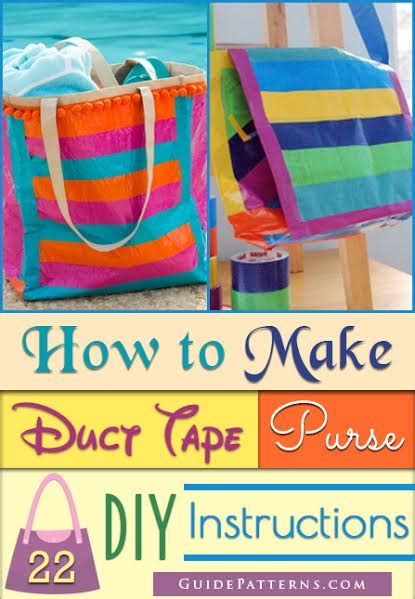 printable instructions how to make a duct tape wallet how to make duct tape purse 22 diy instructions guide