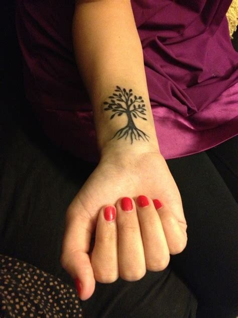 pin small tree tattoo designs for women image search
