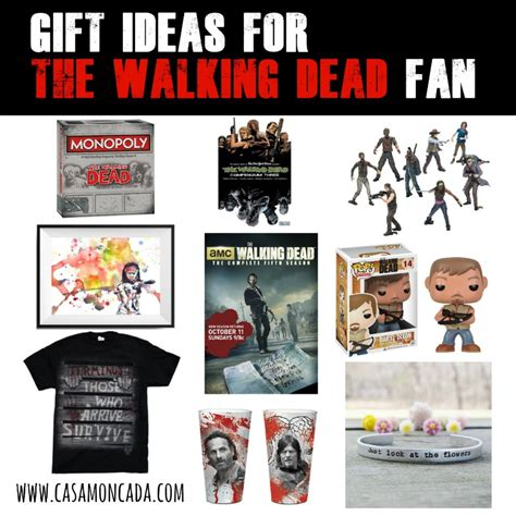 the walking dead gifts gift ideas for the walking dead fan casa moncada
