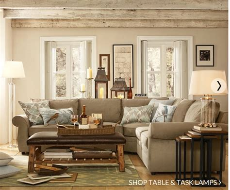 decorating like pottery barn pottery barn family room marceladick com