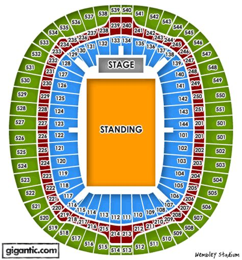 wembley stadium floor plan ac dc wembley stadium london 04 07 2015 17 00