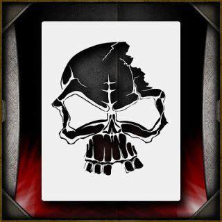 airbrush skull stencils on popscreen