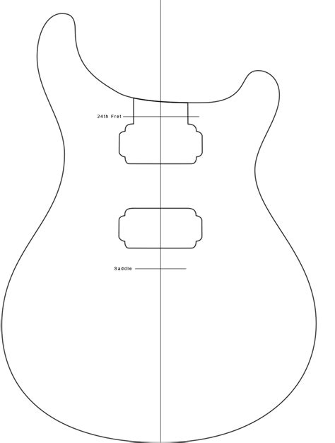 strat routing template your average american paul reed smith custom 24 build part 1