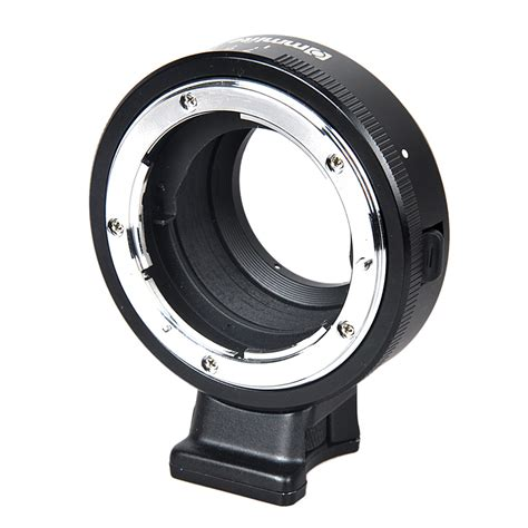 commlite lens mount adapter w aperture for nikon f af s g lens to m4 3 mft gh4 gh5