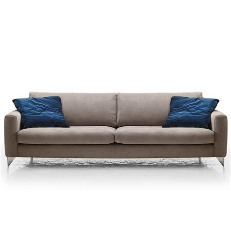 slim couches florence modern italia sofa grey