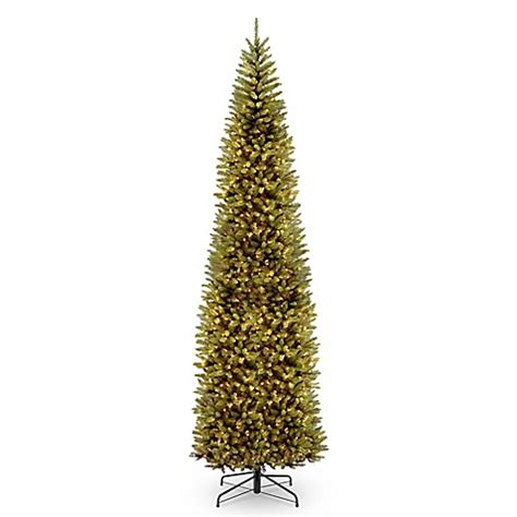 buy national tree company 12 foot kingswood fir pencil pre