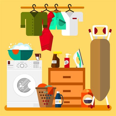 design laundry room online free laundry room design vector vector cartoon free download