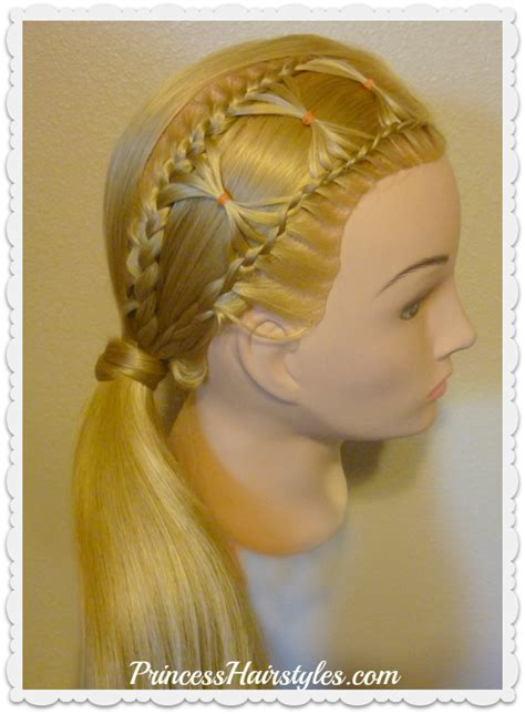 braided hairstyles bow bow tie braid braided hairstyle for long hair