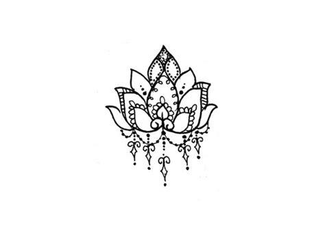 lotus design indonesia lotus flower temporary tattoo temporary tattoos more