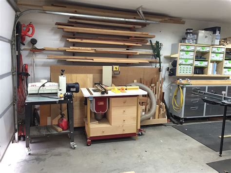 garage shops woodworking workshop steve lyde