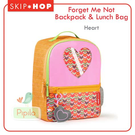 Skiphop Lunch Pals Tas Anak skiphop forget me not backpack lunch bag pipilo