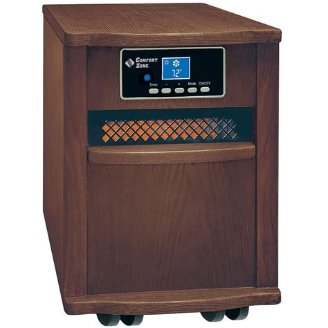 Infrared Cabinet Heater large infrared cabinet heater walnut finish howard berger cz2011w portable heaters