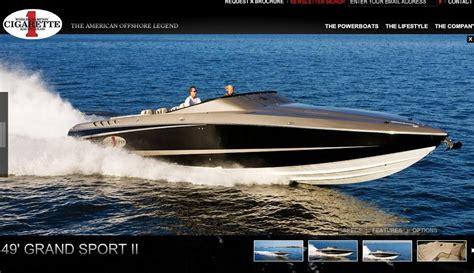 ferrari cigarette boat new model cigarette 49 grand sport ii teamspeed