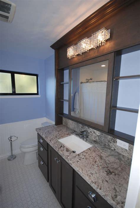 starmark cherry slate  sliding vanity mirror