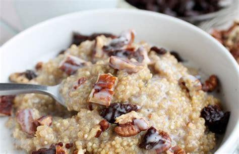 whole grains quinoa recipes 11 healthy whole grain breakfast recipes