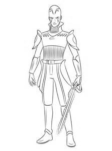 rebels coloring pages to print wars rebels the inquisitor coloring page free
