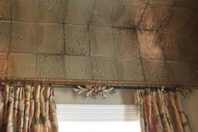 Romancing The Home Faux Quot Mirror Tile Ceiling