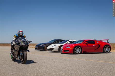 fastest mclaren world s fastest hyperbike races bugatti veyron 1350hp gt