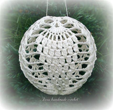 pattern christmas ball crochet christmas ball pattern by zica craftsy