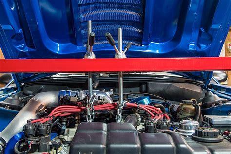mustang k member install sn95 team z motorsports auto cross k member and qa1 strut