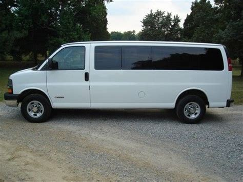 auto air conditioning repair 2003 chevrolet express 3500 seat position control purchase used 2004 chevy express lt 3500 extended van in kearneysville west virginia united