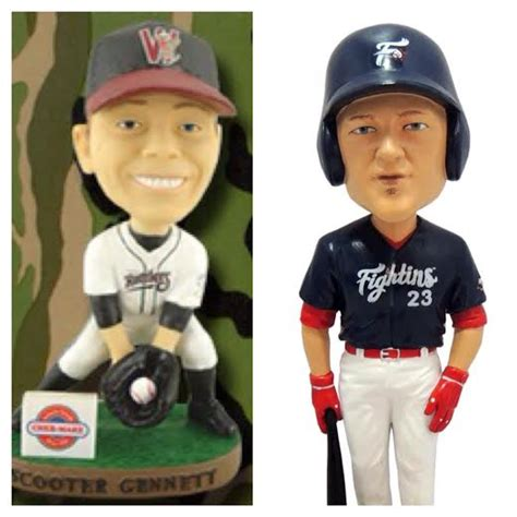 Bobblehead Giveaways - a chronological list of all 2014 minor league baseball