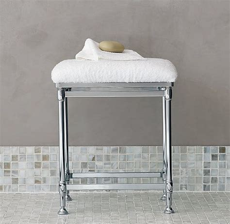 Restoration Hardware Vanity Stool by 46 Best Images About Master Bath Paint Decor On
