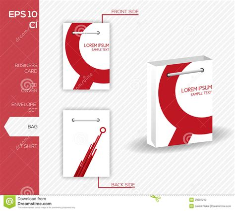 corporate identity design vector free corporate identity design for business abstract