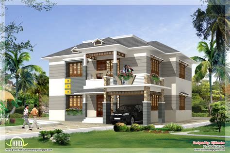 free new home design 2700 sq feet kerala style home plan and elevation kerala