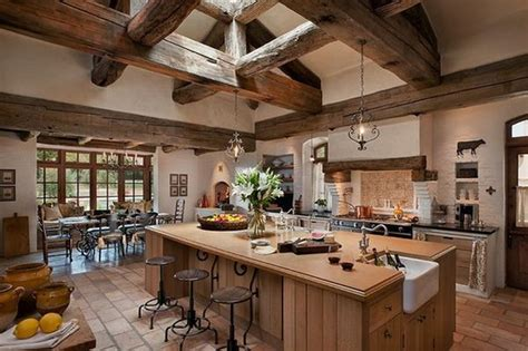 Brick Backsplashes For Kitchens top 10 beautiful rustic kitchen interiors for a warm