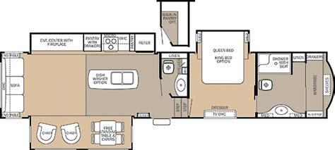 cedar creek fifth wheel floor plans cedar creek fifth wheel by forest river