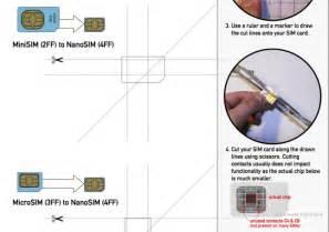 nano sim cutting template how to cut a standard sim to nano sim tech news