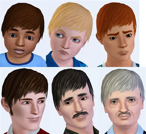 sims 3 pixie hair mod the sims pixie hair for males all ages