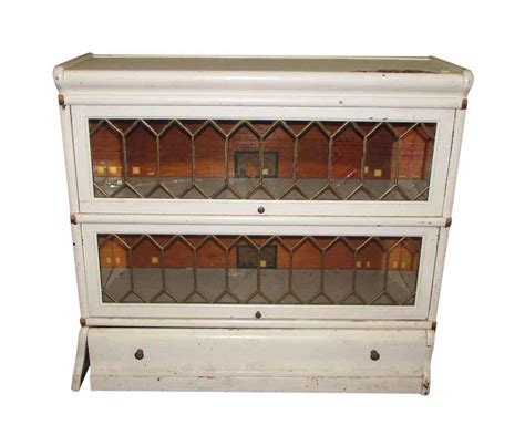 barrister bookcase leaded glass barrister bookcase with leaded glass olde good things