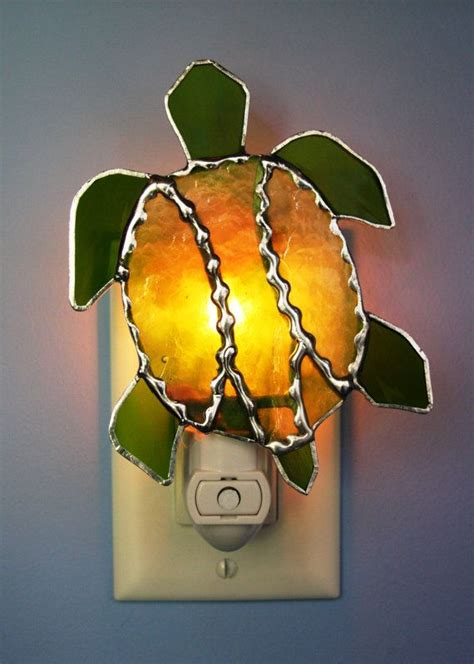 stained glass turtle l 17 best images about night lights for stained glass on