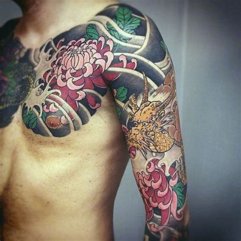 japanese flower tattoos for men 50 japanese flower designs for floral ink ideas