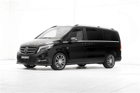 Mercedes V Class by Mercedes V Class Gets The Brabus Treatment For Geneva