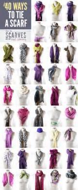 Ways To Tie Infinity Scarf Thanks I Made It 40 Ways To Tie A Scarf