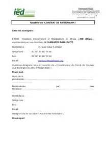 Exemple De Lettre De Demande Partenariat Projet De Contrat De Partenariat Operateur Rff