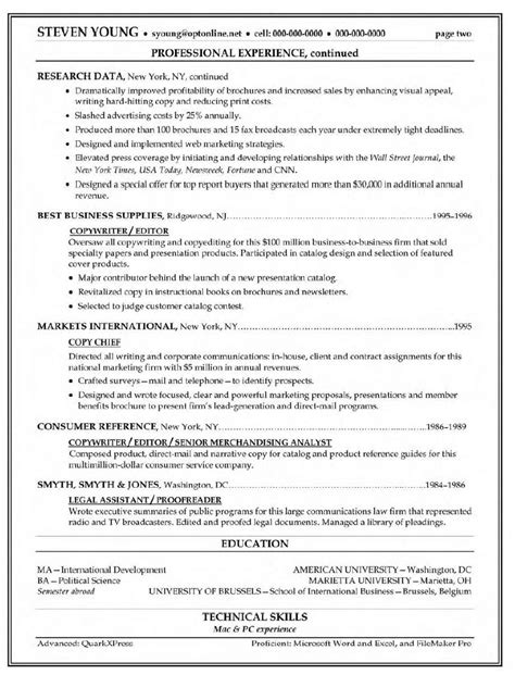 Copy And Paste Resume Templates by Copy Paste Resume Template And Free Resume Template Copy