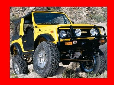 car owners manuals free downloads 1992 suzuki samurai regenerative braking suzuki samurai sidekick geo tracker workshop service repair manual