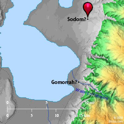 sodom and gomorrah map bible map sodom