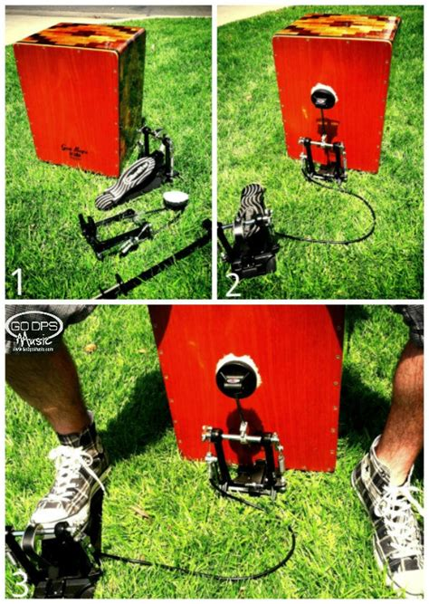 drum pattern pedal how to make your cajon more awesome add a bass drum