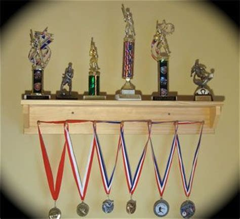 How To Build A Trophy Shelf by 17 Best Images About Trophy Medal Display On