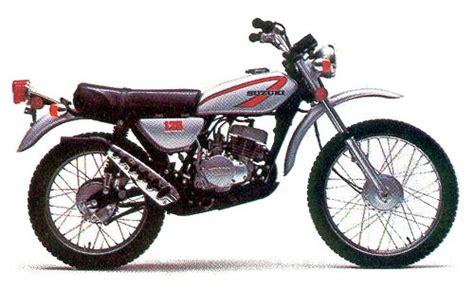 Suzuki Ts 75 Suzuki Ts125 Model History