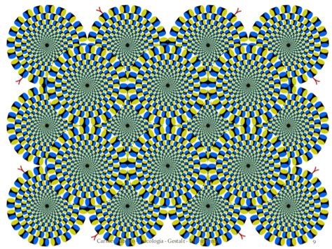 ilusiones opticas gestalt gestalt ilusion de movimiento ilusiones 243 pticas